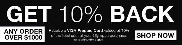 Get 10% back via redemption
