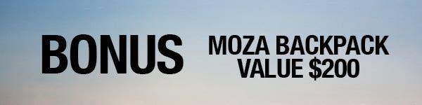 October -Kitted - Bonus Moza MCG BackPack