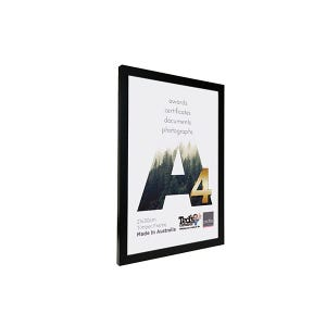 Profile Frame Certificate Black A4