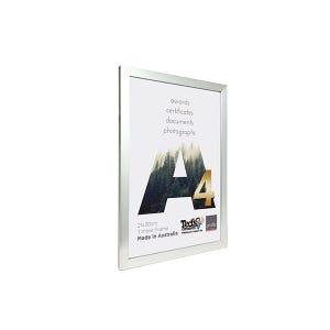 Profile Frame Certificate Silver A4