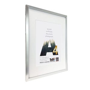 Profile Frame Certificate Silver A3/A4