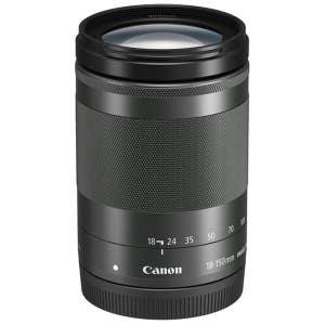 Canon EF-M 18-150mm f3.5-6.3 IS STM - Black