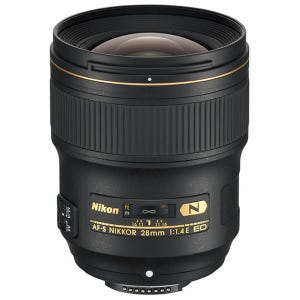 Nikon AF-S 28mm f1.4 E Lens (FX)