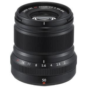 Fujifilm XF 50mm F2 R WR Black