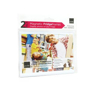 Profile Magnetic Frames - Clear 4x6 2 pack