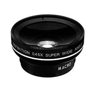 Apexel 0.45MM Clip on Lens - HD 80-degree wide/15x Macro