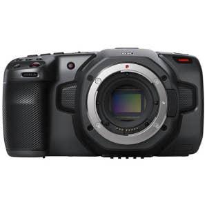 BlackMagic Pocket Cinema Camera EF Mount - 6K - front