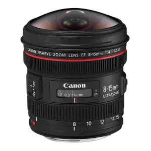 Canon EF 8-15mm f4 L Fisheye