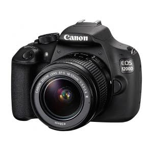 Canon EOS 1200D + 18-55mm non IS