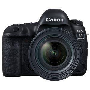 Canon EOS 5D Mark IV Body + EF 24-70mm F2.8 LUSM II Zoom Kit