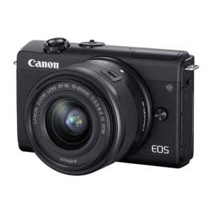 Canon EOS M200 + 15-45mm - front angle