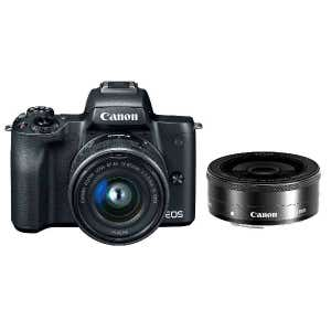 Canon EOS M50 + 15-45mm & 22mm Twin Kit