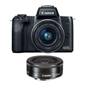 Canon EOS M50II + 15-45mm & 22mm Twin Kit
