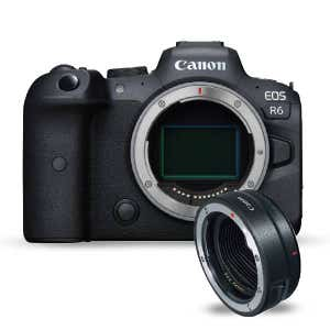 Canon EOS R6 Body & EF-EOSR Adapter Kit