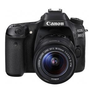 Canon EOS 80D + 18-55mm IS STM Kit (Canon Repack Stock)