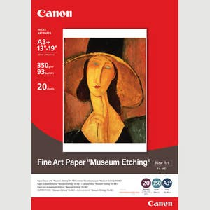 Canon Fine Art Paper Museum Etching A3+ (20pk) FAME1A3+