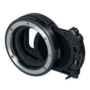 Canon EOS-R Mount Adapter with drop-in ND Filter