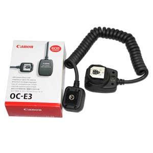 Canon OCSC3 Off Camera Shoe Cord 3