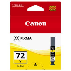 Canon PGI72Y Yellow Ink Tank for PIXMA PRO10