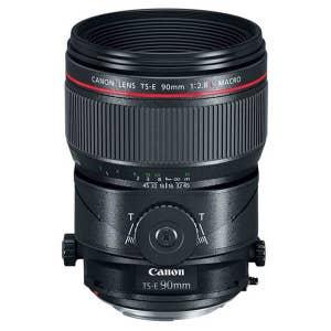 Canon TS-E 90mm f2.8L Tilt Shift Macro Lens