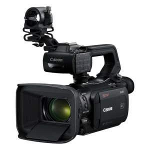 Canon XA50 - Front Angle