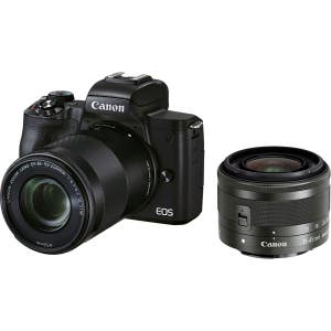 Canon EOS M50II + 15-45mm & 55-200mm Twin Kit