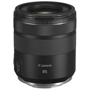 Canon RF 85mm f2 Macro IS STM - front