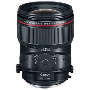 Canon TS-E 50mm f2.8L Tilt Shift Macro Lens