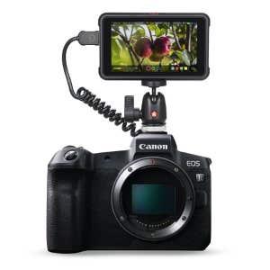 Canon EOS R Body + Ninja V attached