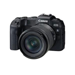Canon EOS RP + 24-105mm f4-7.1 STM Kit - front angle