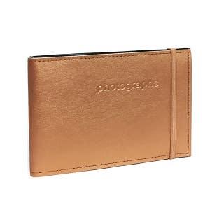Profile Citi Leather Slip-in Album Copper 4x6