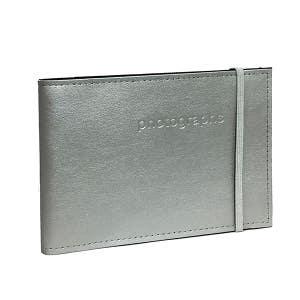 Profile Citi Leather Slip-in Silver Album 4x6