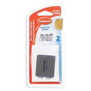 Hahnel Canon NB-4LH Battery