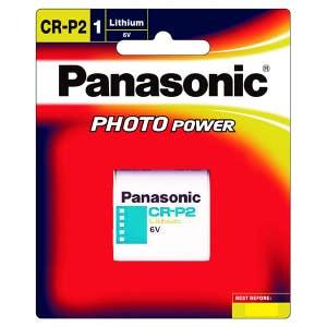 Panasonic CRP2PB 6V Battery