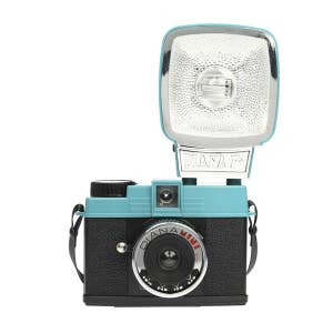 Lomo Diana Mini 35mm Camera & Flash  -Teal/Black