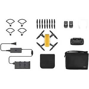 DJI Spark Drone Fly More Combo - Yellow