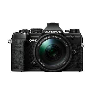 Olympus OM-D E-M5 Mark III + 14-150mm - Black - Front