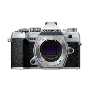 Olympus OM-D E-M5 Mark III Body - Silver - front