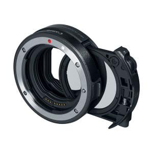 Canon EOS-R Mount Adapter with drop-in CP Filter