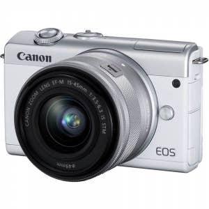 Canon EOS M200 + 15-45mm - White