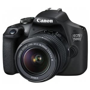 Canon EOS 1500D Kit + EF-S 18-55mm STD Kit