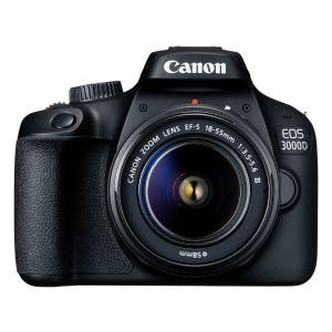 Canon EOS 3000D + 18-55mm STD Kit