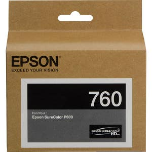 Epson T760 Ultrachrome Light Cyan Ink for P600