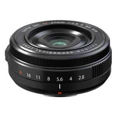 Fujifilm XF 27mm F2.8 WR Lens - Black