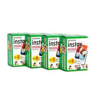 Fujifilm Instax Mini Instant Film - 80 Shots
