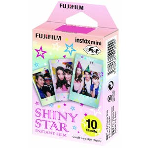 Fuji Instax Mini Instant Film Shiny Star 10 Shot