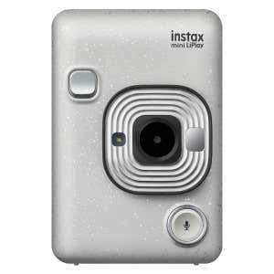 Fujifilm Instax LiPlay Instant Camera - White