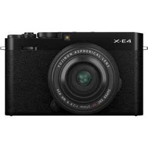 Fujifilm X-E4 + 27mm f2.8 WR Street Kit - Black