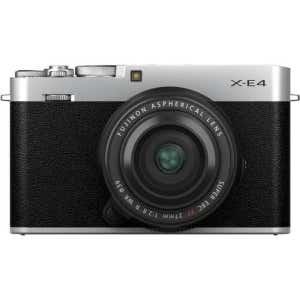 Fujifilm X-E4 + 27mm f2.8 WR Street Kit - Silver