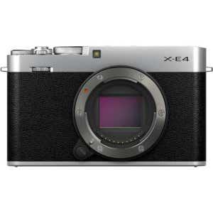 Fujifilm X-E4 Body - Silver